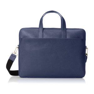 Jack Spade Men's Barrow Leather Slim Briefcase